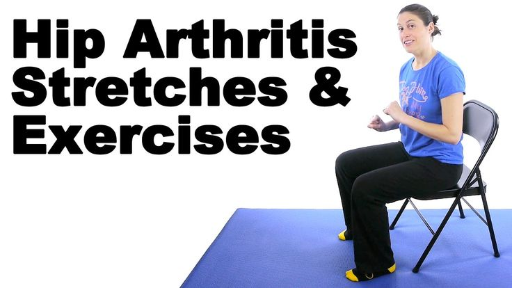 These hip arthritis stretches and exercises are easy to do in the comfort of your home and should provide some pain relief. See Doctor Jo's blog post about this at http://www.askdoctorjo.com/content/hip-arthritis-stretches-exercises