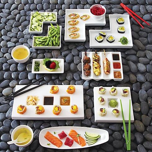 Sushi dishware CB2