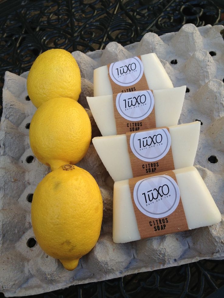 Citrus soap... Made with natural and essential oils...
