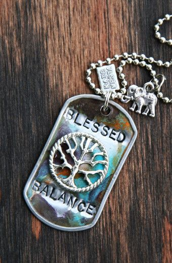 This beautifully handmade dog tag is one of a kind. Unique, made in California and you will surely love how this looks, as well others when they see it around y