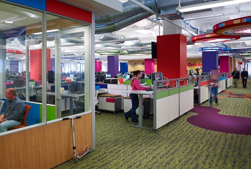Quicken Loans Office -The Qube Detroit | Our Office | Pinterest ...