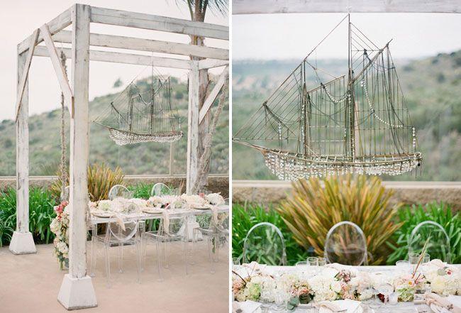 Shipwrecked Winter Beach Wedding: Cortnie + Donny on Green Wedding Shoes