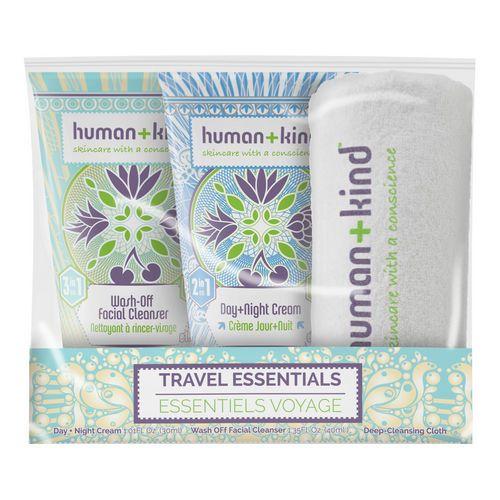 Travel Essentials Pack - Kit da viaggio di Human+Kind su Sephora.it
