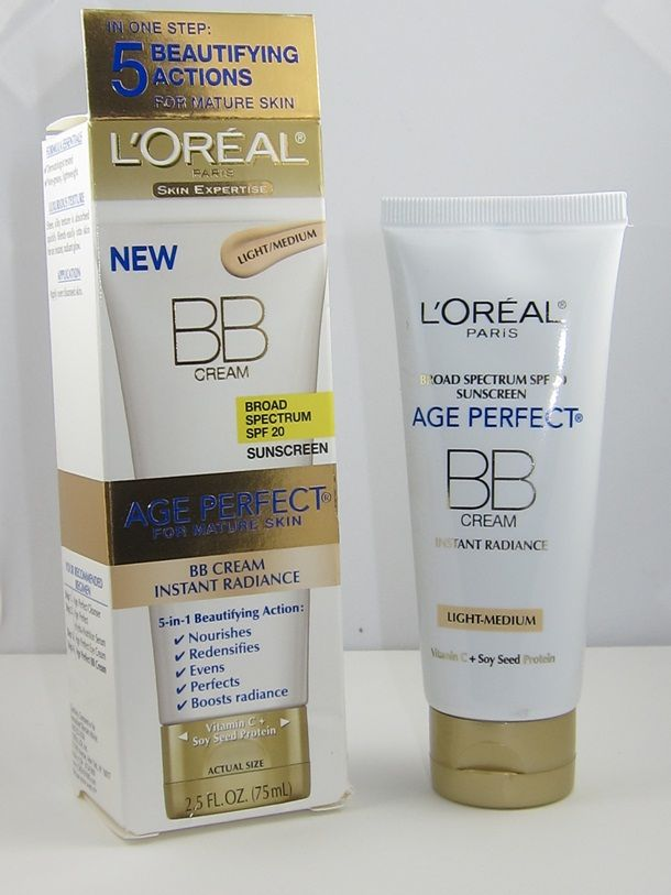 L'Oreal Age Perfect BB Cream Instant Radiance Review $15