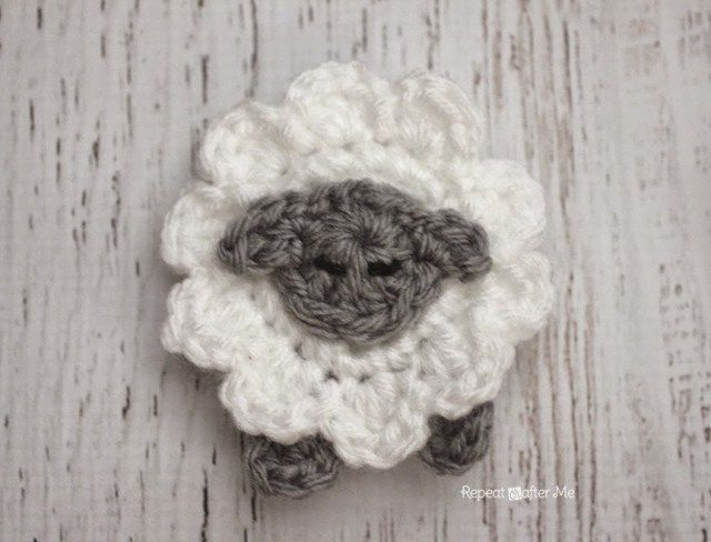 76 mejores imágenes de crochet aplique en Pinterest | Apliques de ...