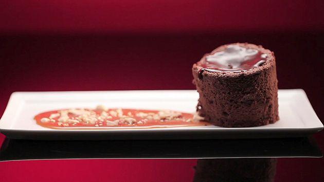 MKR4 Recipe - Salted Caramel Chocolate Cake  (Sam & Chris)