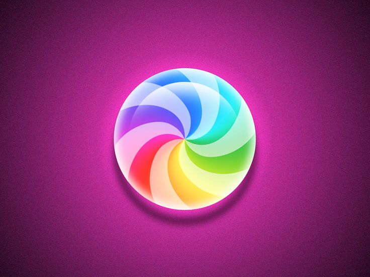 colorful glass bead----icon