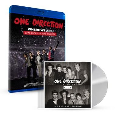 FOUR (Deluxe) CD + Where We Are Blu-ray http://www.myplaydirect.com/one-direction/four-deluxe-cd-where-we-are-blu-ray/details/39045456?cid=social-pinterest-m2social-product&current_country=US&ref=share&utm_campaign=m2social&utm_content=product&utm_medium=social&utm_source=pinterest $41.99