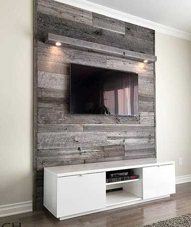 25+ Cool DIY Wooden Pallet TV Console Ideas for your project