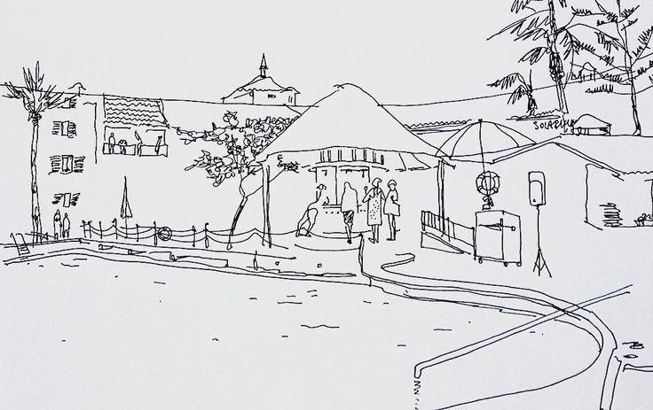 Отельный отдых хорош когда музыка та что надо. И она была то что надо. Всех объединяла в то самое эмоциональное состояние. И все пританцовывая улыбались!) #путешествие #travel #артконовалова #архитектура #artbook #sketching #sketch #argisketch #graphic #illustration #instagood #topcreator #иллюстрация