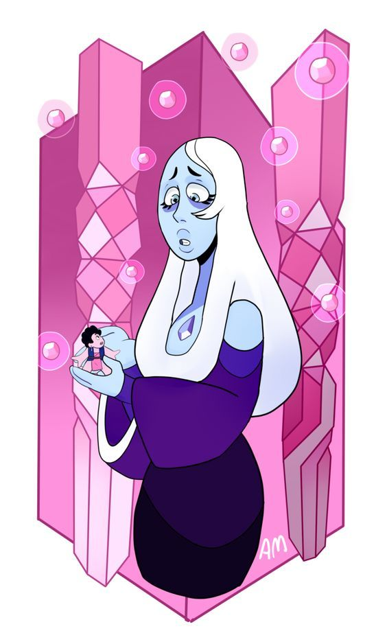 Steven and Blue Diamond. What should have happened