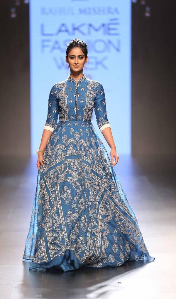 Ileana D'Cruz for Rahul Mishra at Lakme Fashion Week Summer Resort 2016