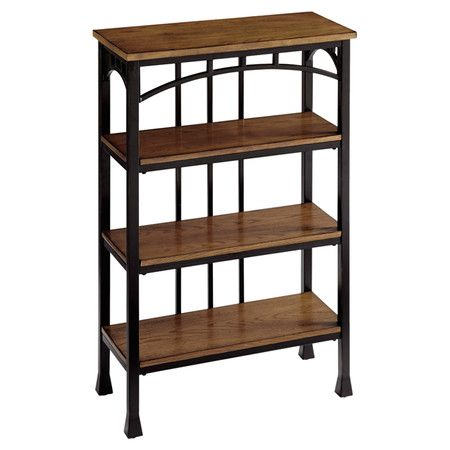 Whether displaying books in your home office or holding towels and soaps in the master bath, this 4-tier etagere brings timeless style to your home.