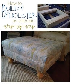 furniture {reincarnated}: How to Build and Upholster an Ottoman