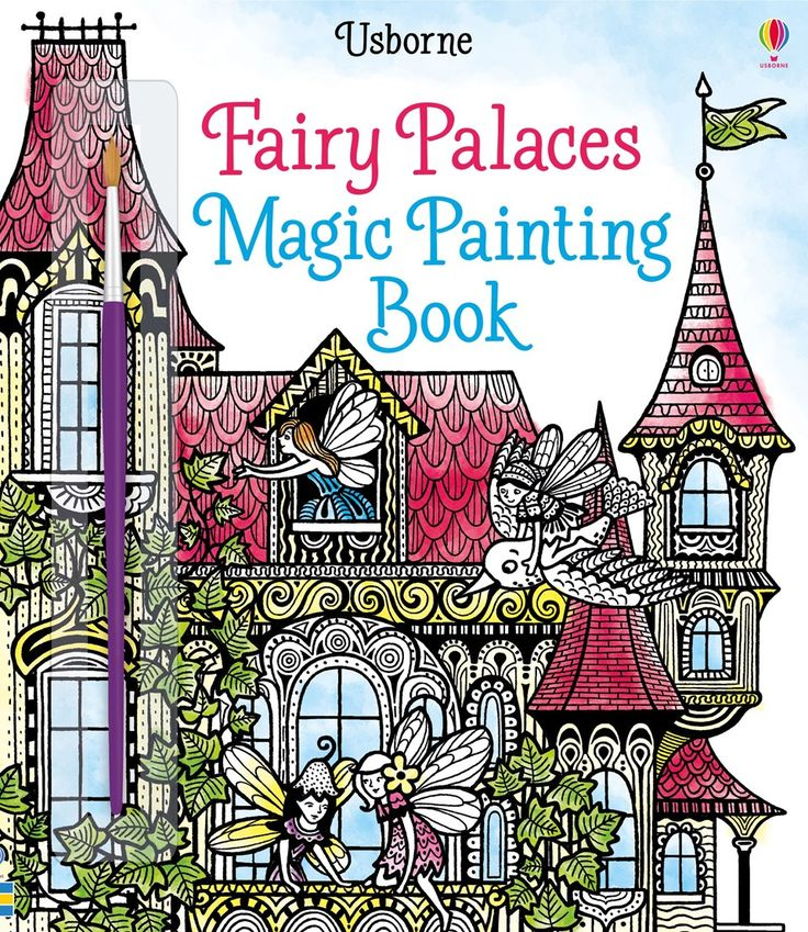 "Find out more about ""Fairy palaces magic painting book"", write a review or buy online."