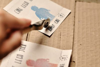Como fazer picote para destacar em papel - Estéfi Machado