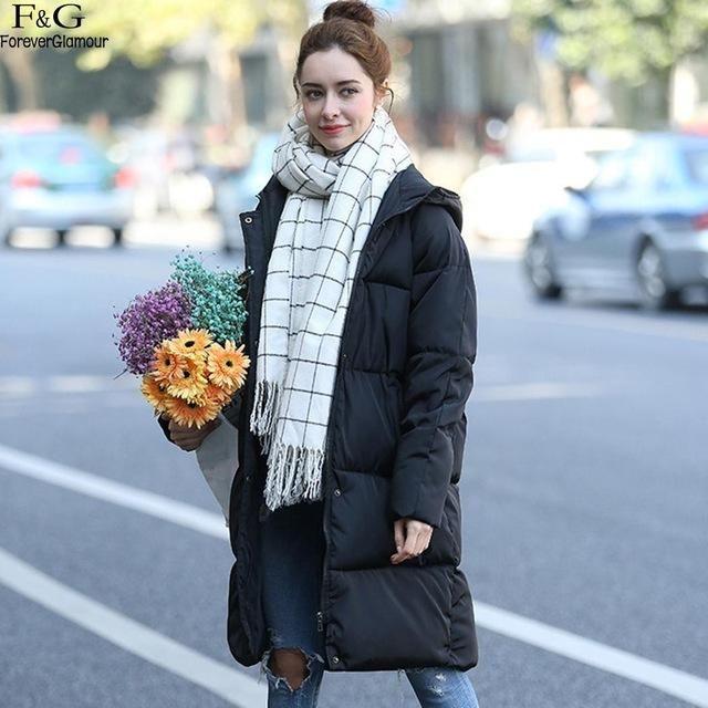Winter Jacket Women Manteau Femme Hiver Winter Military Coats Plus Size XX 2018 New Winter Coat Women B XL