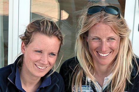 Hannah Mills and Saskia Clark on Britain's prospect for 470 Women's gold at London 2012