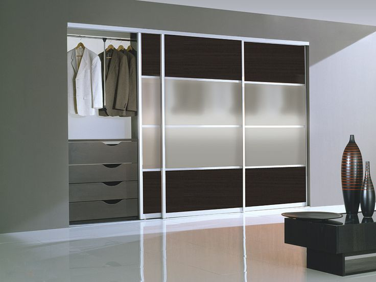 Contemporary Closet Doors | Milano SL03 Modern Closet Door By Milano Doors.  Sliding ...