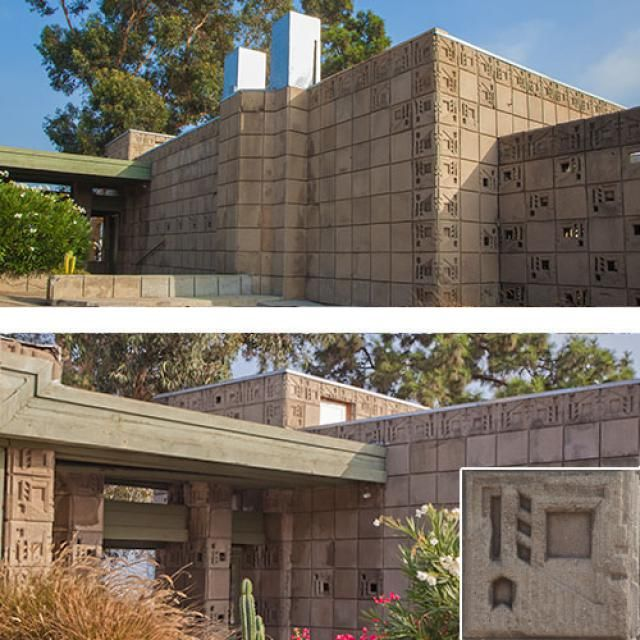 17 best images about flw freeman house on pinterest for Frank lloyd wright houses in california