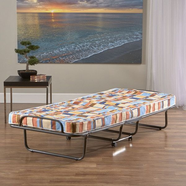 Twin Size Folding Bed Cot Rollaway Guest Frame
