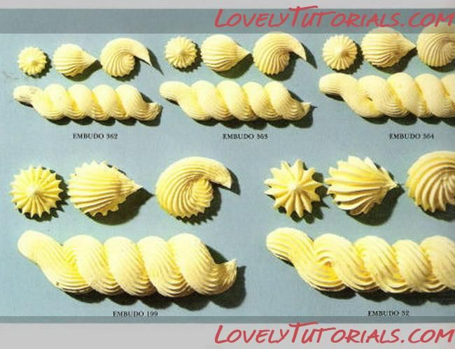 Piping tips and techniques