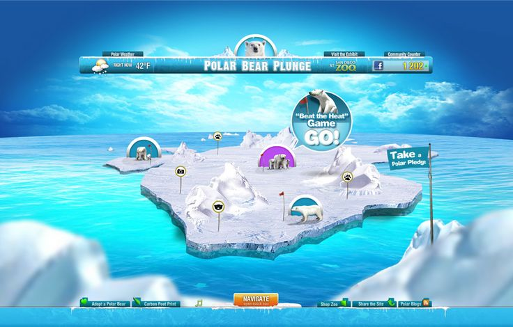 Polar Bear Games Online