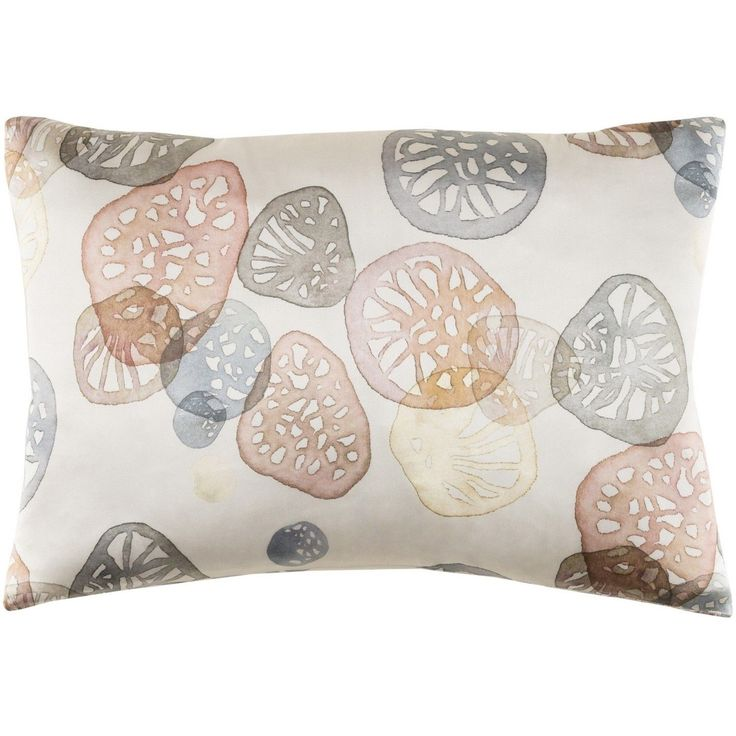 Surya Decorative Stotfold Down or Poly Filled Throw Pillow