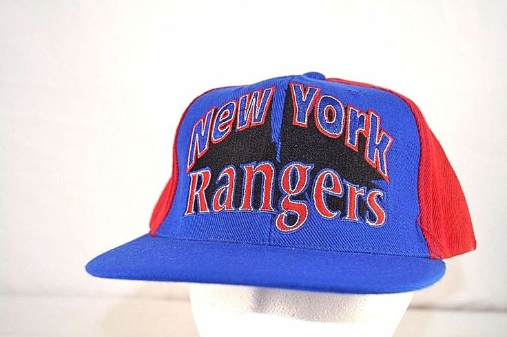 New York Rangers Red/Blue NHL Baseball Cap Snapback Reebok #AJD #BaseballCap