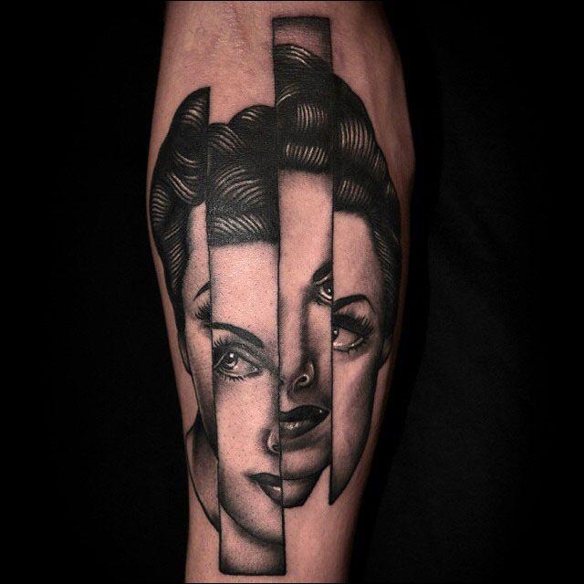 Les tatouages surréalistes de Pietro Sedda