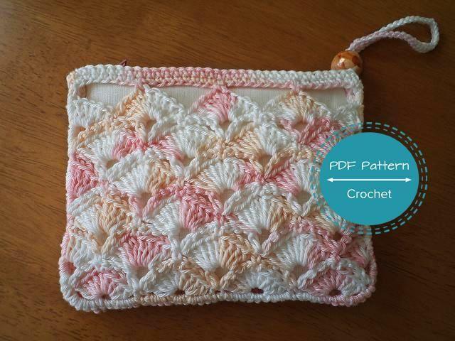 Crochet Coin Purse - PDF Pattern + How to Double Crochet