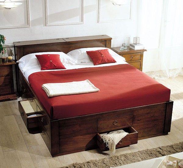 Camas con cajones gana espacio en tu dormitorio con camas - Cama infantil con cajones ...