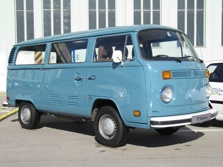 Electric Kombi Yes It 180 S The Original Volkswagen T2