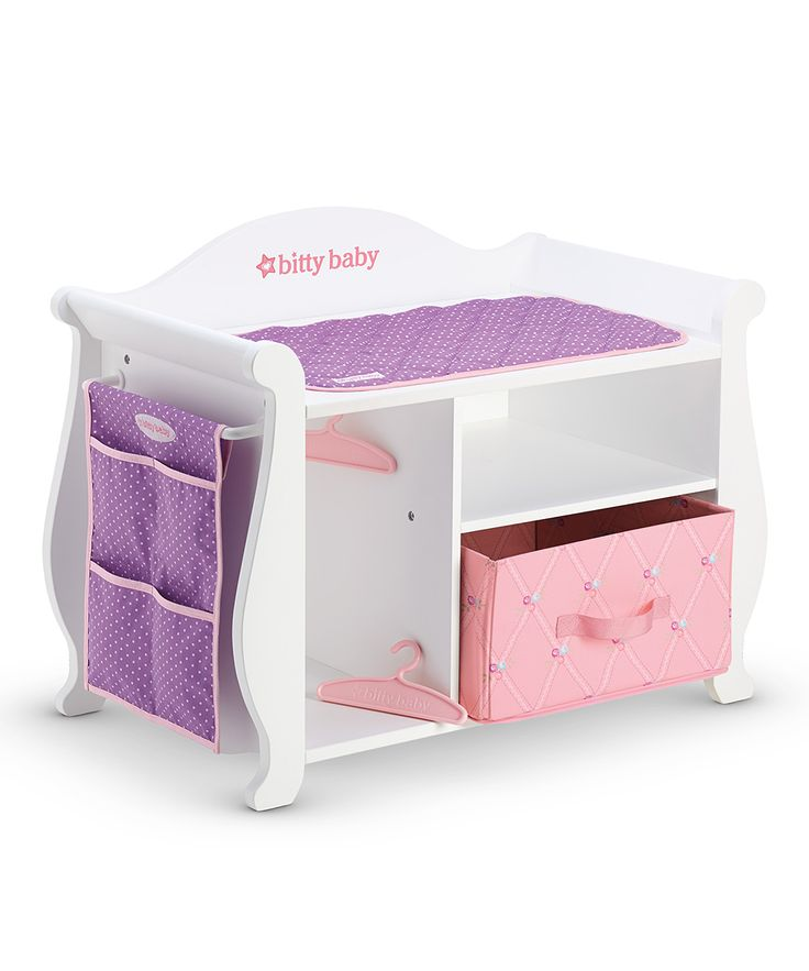 Changing table storage unit for 15quot bitty baby doll gift for Unique doll changing table designs
