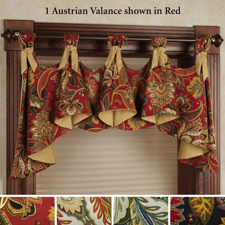 22 best home decor fashions images on pinterest - Country kitchen valances for windows ...