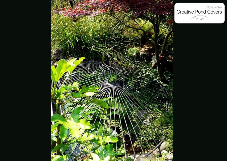The 103 best images about child safety pond covers on for Garden pond safety covers