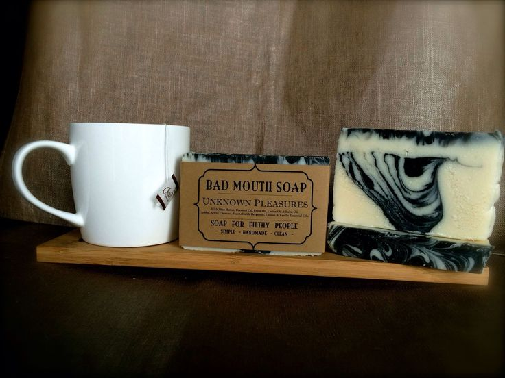 Unknown Pleasure soap #soap #handmade #badmouth #filthy #joydivision