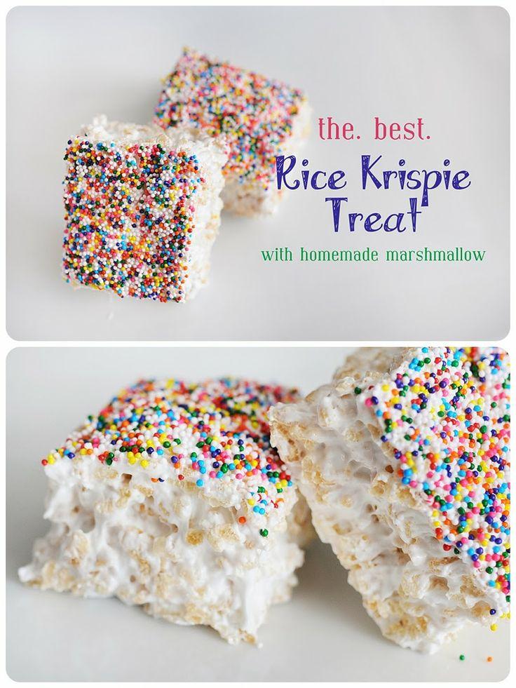Meredith's Recipes: Meredith's *Perfect* Rice Krispie Treats