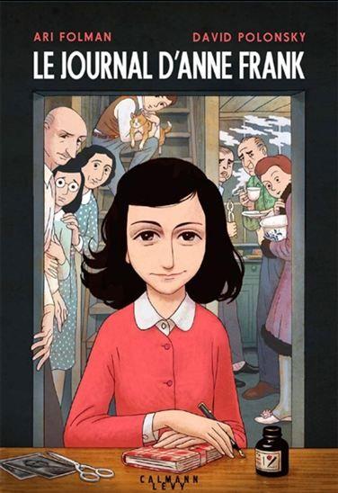 Le journal d'Anne Frank / adaptation graphique du texte, Ari Folman ; illustrations, David Polonsky.