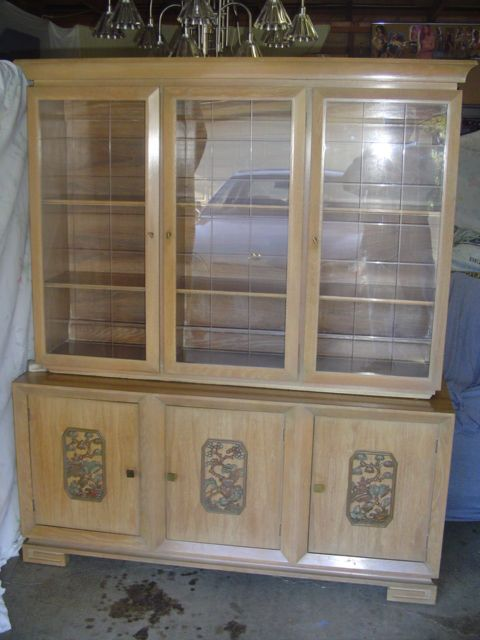 limed oak glass cabinet 2
