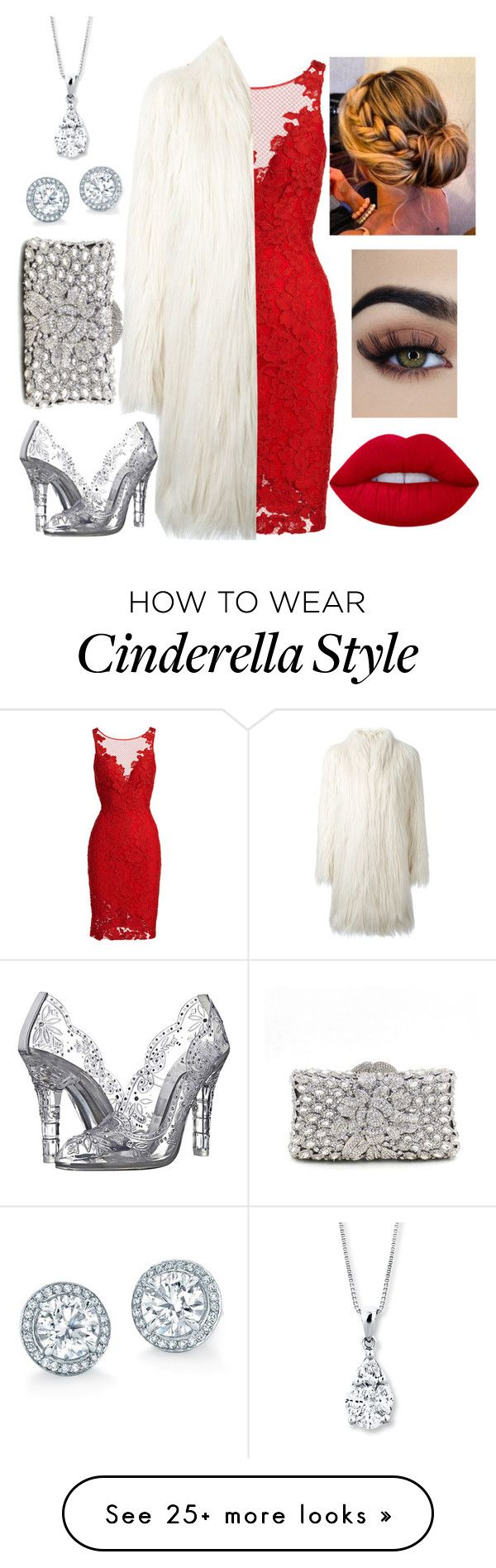 """""""ROMANTIC WINTER WEDDING"""" by evitatrii on Polyvore featuring ML Monique Lhuillier, Giamba and Dolce&Gabbana"""