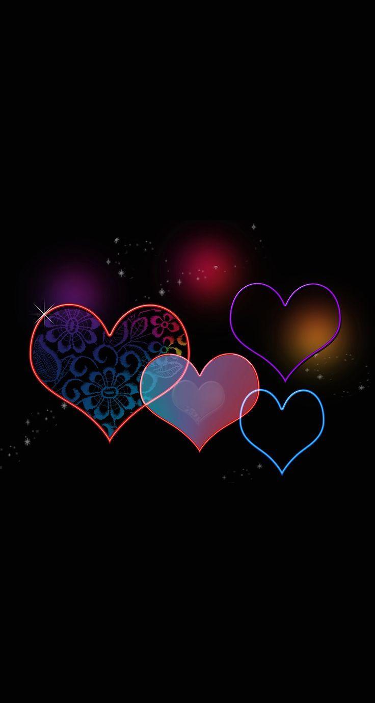 Dawnfox Fox Heart Wallpaper Cellphone Wallpaper Love Wallpaper