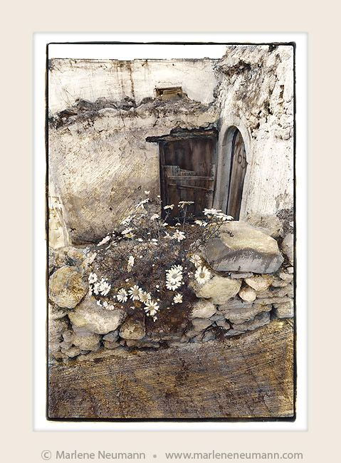 """""""Doorway No.165"""" - Timeless black and white Fine Art Photography by Master Fine Art Photographer Marlene Neumann. Decor. Gifts. Art for your home and office. www.marleneneumann.com"""