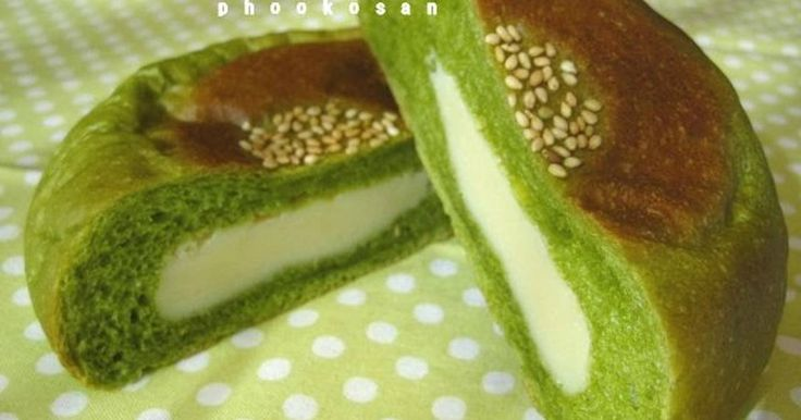 Great recipe for Strong Matcha Milk Anpan. I was able to make a delicious matcha bread and milk paste, so I wanted to combine them together.   Recipe for milk paste: https://cookpad.com/us/recipes/149317-milky-sweet-bean-jam-using-shiro-an-white-bean-powder  The matcha syrup I used this time was a thick syrup, so I added 155 ml of liquid, but if you are using a thin syrup, it will be better to reduce about 5 ml of liquid. Also adjust the amount of liquid to use according to the strong bread…