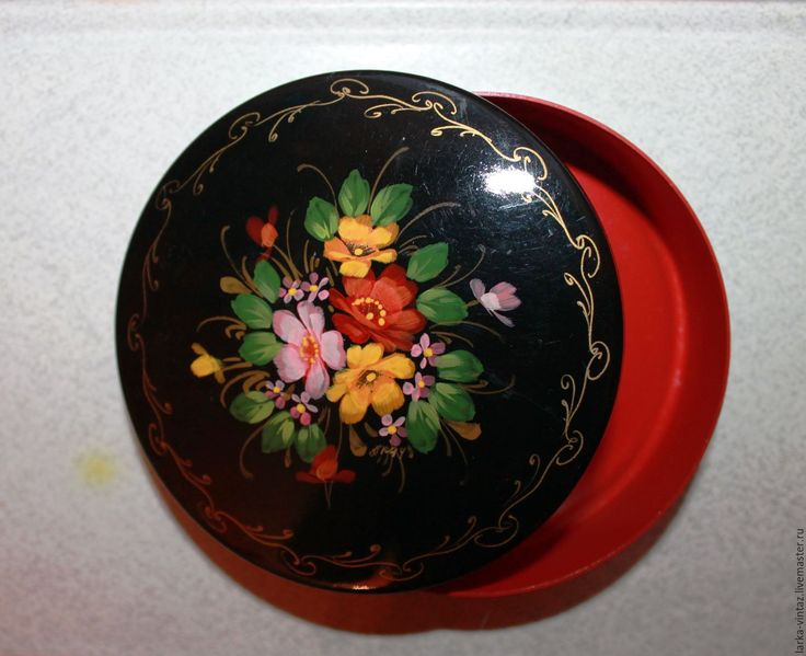 Купить Винтаж. Шкатулка для украшений Букет цветов в интернет магазине на Ярмарке Мастеров