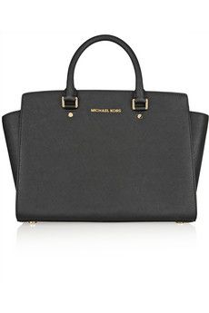 MICHAEL Michael Kors Selma large textured-leather tote | NET-A-PORTER