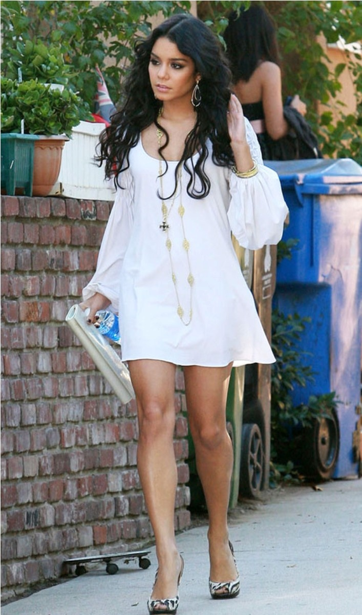 Vanessa Hudgens cute summer outfit find more women fashion ideas on…