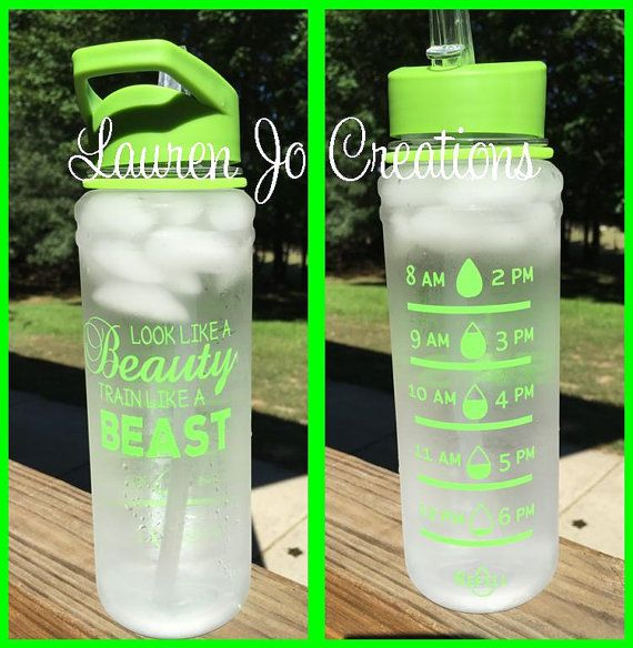 Motivational Water Intake Bottle 26 Oz Intake Tracker