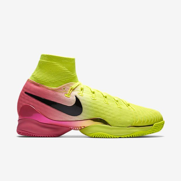 Nike Air Zoom Ultrafly HC QS Mens Tennis Shoes 10.5 Volt Hyper Pink 819692  706
