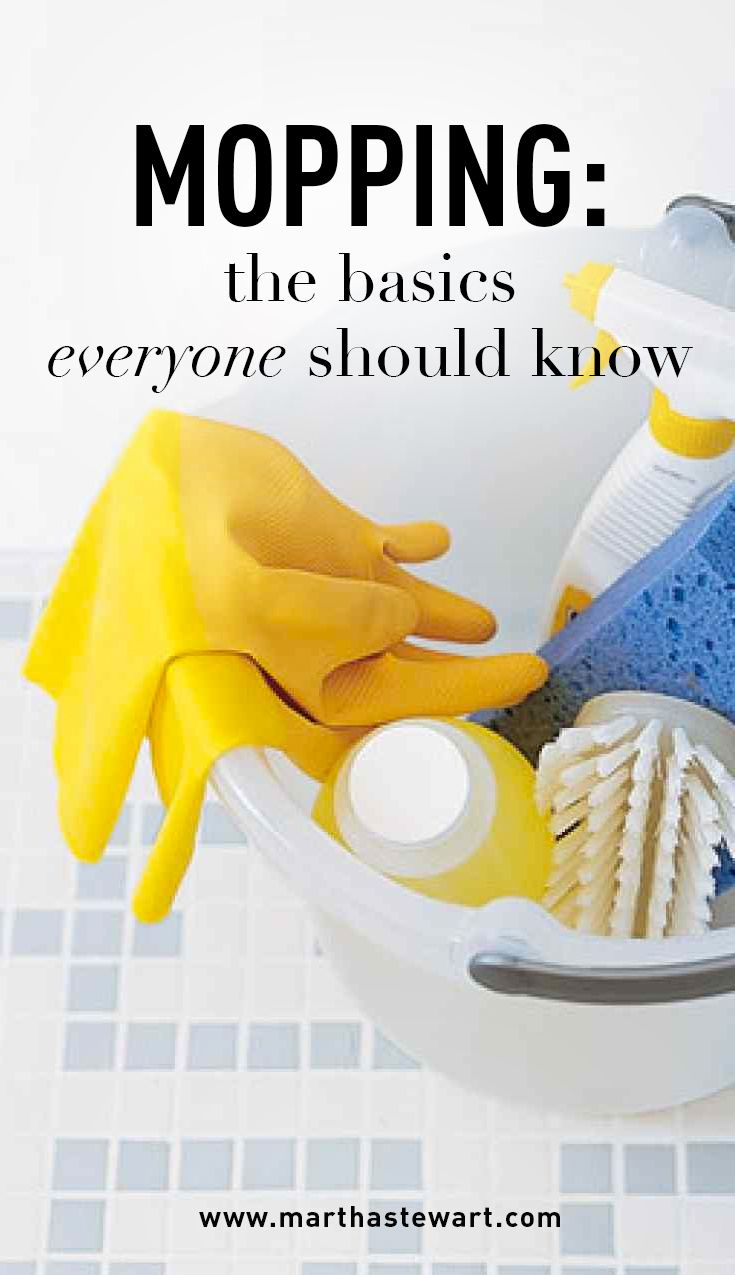 """Mopping: The Basics Everyone Should Know 